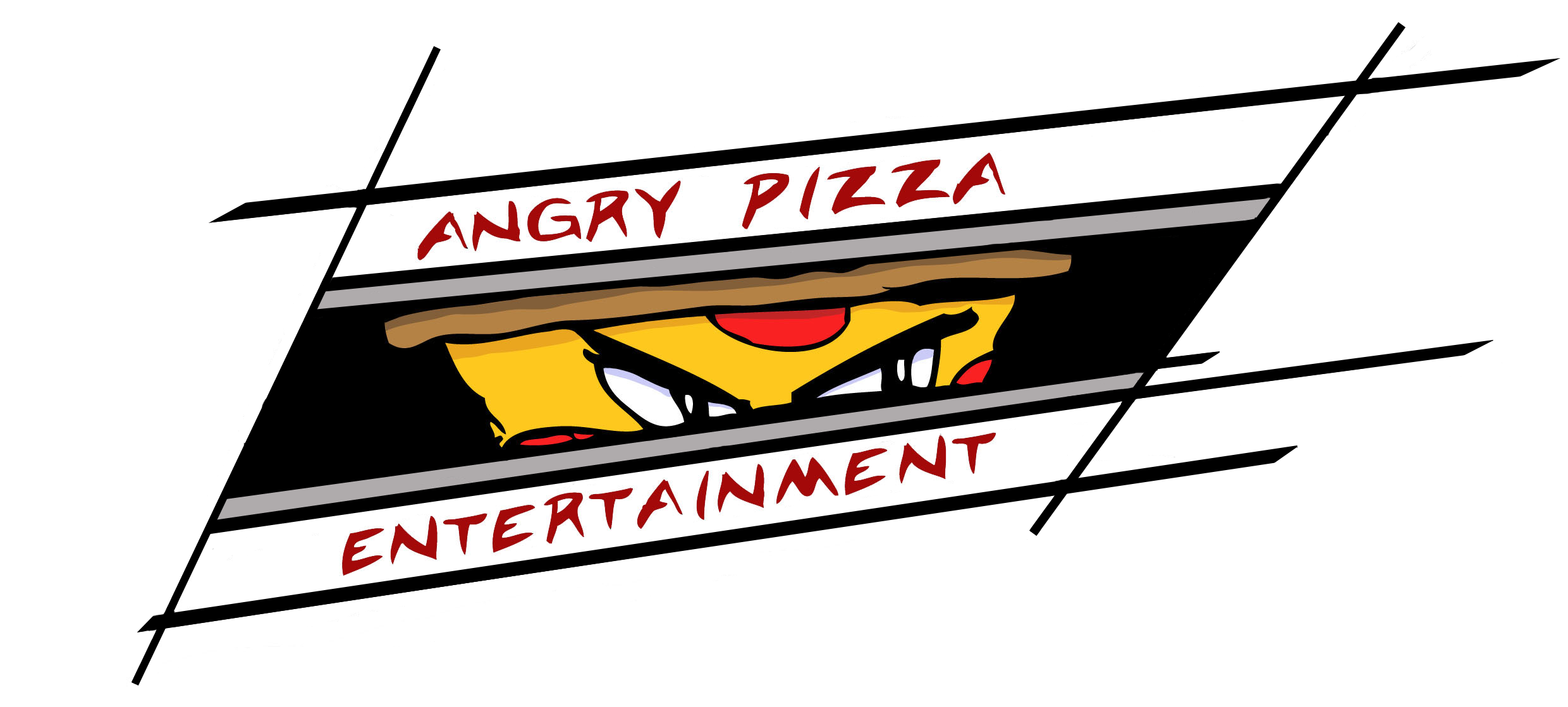 Angry Pizza Logo